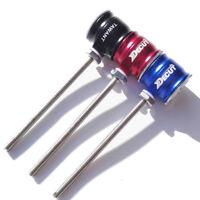Decut TAWANT Archery Recurve Bow Sight Scope Green Pin 1.0 Optical Fiber Bar