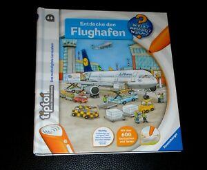 Tiptoi BuchEntdecke den Flughafen Ravensburger gut erhalten
