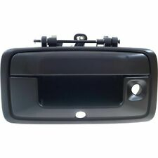 NEW Tailgate Handle Black w/ Camera Hole Smooth for 2015-2018 Chevrolet Colorado
