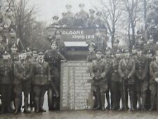 More details for large ! ww1 presentation photograph 17th armoured car batt cologne xmas 1918