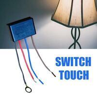 Touch Light Lamp Dimmer Schalter Steuermodul Sensor für Glühlampen New 2020