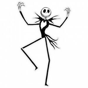 Nightmare before Christmas Jack Skellington Jointed Cut Out 1.2m Halloween Party