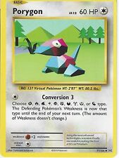 POKEMON XY EVOLUTIONS CARD - PORYGON 71/108