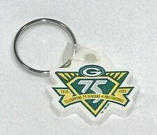 VINTAGE 1993 GREEN BAY PACKERS 75th ANNIVERSARY KEYCHAIN