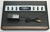 Atari 2600 Console/Sears Tele-Games Video Arcade Recapped modded Fully Tested