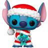 Santa Stitch with Scrump Lilo & Stitch Funko Pop Vinyl New in Box