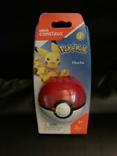 Mega Construx Pokemon Pokeball Series 1 Pikachu Figure NEW