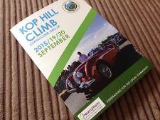 New listing Kop Hill Climb 2015 Programme Classic Cars. Vintage Bikes