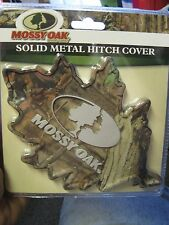 "Mossy Oak Camo 3D Leaf Solid Metal Trailer Hitch Cover For 2"" or 1.25"" Receivers"