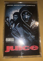 Juice Motion Picture Soundtrack Cassette Audio Tape 2pac Tupac 1991 rare hip hop