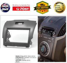 Fascia facia Holden Colorado 2012+ Double Two 2 DIN Dash Kit