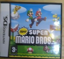 New Super Mario Bros Nintendo DS Boxed & Manual Free 1st Class