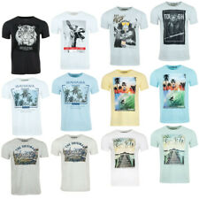 riverso Herren Rundhals T-Shirt RIVLukas S-5XL 100% Baumwolle Sommer Shirts Fit
