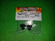 """Yokomo Yokbm-S812R """"X"""" Ver. Ii Plastic Shock Cap Yz-2 B-Max2"""