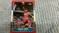 2009-10 UPPER DECK LEGACY GOLD MICHAEL JORDAN 1986 FLEER  ROOKIE BASKETBALL CARD