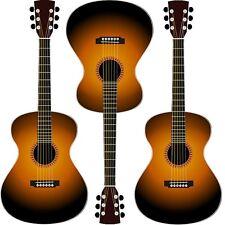 30 Custom Guitar Art Personalized Address Labels