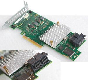 Fujitsu 12Gb/S Pcie x8 SAS SATA Raid Contrôleur A3C40174126 Profil Bas V137