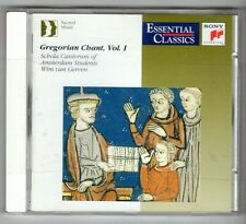 (GY23) Gregorian Chant Vol 1, Wim Van Gerven - 1991 sealed CD