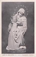 A7520) MARIA SS. CHE SI VENERA IN CASACALENDA (CAMPOBASSO). AL VERSO CANZONCINA.