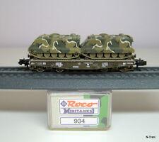 Roco N 934 - Pianale a 4 assi SSy 45 con 2 M113 esercito USA livrea MRDEC