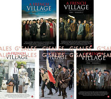French Village Un Village Français Series Complete Season 1-5 BRAND NEW DVD SET