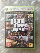 NEW FACTORY SEALED GRAND THEFT AUTO LIBERTY CITY ORIGINAL RELEASE FOR XBOX 360