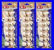 8in1 VACA Delicias hueso para Roer XS 3x7 UNIDADES con Carne de vacuno,