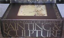THE LIBRARY OF PAINTING & SCULPTURE ~ 4 VOL HARDCOVER SLIPCASED GIFT EDITION
