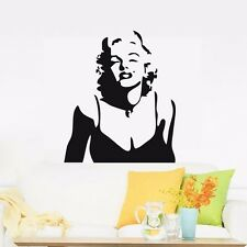 Classic Marilyn Monroe Wall Decor Removable Home Vinyl Decals Stickers Art DIY