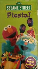 Sesame Street Fiesta!(VHS 1997)TESTED RARE VINTAGE COLLECTIBLE SHIPS N 24 HOURS