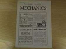 May 9th 1947, MECHANICS, Perspex Desk Set, Storing the fireside implements.