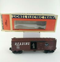 LIONEL Electric Trains, Reading Operating Box Car 6-9223, O-Scale