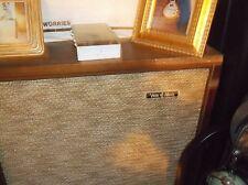 """VOICE OF MUSIC SPEAKER CABNET 15"""" SPEAKER INSIDE CABNET THAT HAS LEGS !!!!"""