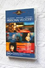 Personal Velocity (DVD), Region-4, Like new, free shipping