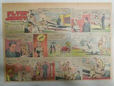 Flying Jenny Sunday Page #1 ! by Russell Keaton from 11/5/1939 Size 11 x 15 inch