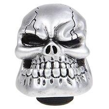 Brand New Bone Grey JAW Skull Resin Gear Knob Stick Custom Universal Customised
