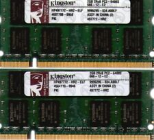 4GB 2x 2GB Kit Apple iMac 2.4GHz Core 2 PC2-6400 800MHz DDR2 Laptop RAM Memory