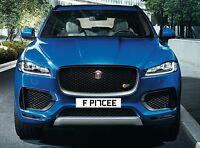 jaguar f pace cherished number plate jag xk xf