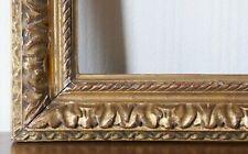 Cadre bois sculpté et doré époque Louis XIV début 18ème siècle