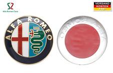 Alfa Romeo Emblem Logo vorne o. hinten Scudetto Abzeichen Wappen Alu Aufkleber