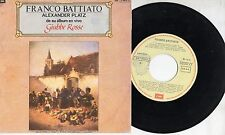 FRANCO BATTIATO in SPAGNOLO disco 45 MADE in SPAIN Alexander Platz 1990