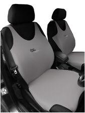 Chaleco Gris 2 Frontal Protectores de cubiertas de asiento de coche para Mini Cooper
