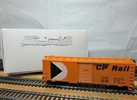 "TYCO 311-T HO Scale 40' Steel Boxcar ""Canadian Pacific Rail"" with KD's"