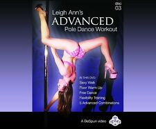 Leigh Ann Orsi Pole Dance & Workout Advanced DVD X-Pole Stripper