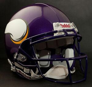 ADRIAN PETERSON Edition MINNESOTA VIKINGS Riddell AUTHENTIC Football Helmet
