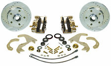 "1955-57 Chevy front  Zero Off-set Disc brake kit for 14"" or larger OEM wheels"