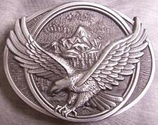 Pewter Belt Buckle animal bird Eagle in Flight NEW natural