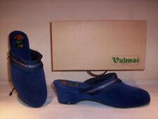 Ciabatte pantofole chiuse Valmor donna slippers women invernali da casa blu n 39