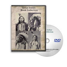 Sioux Indian Nation Tribes History, Stories, Song, Wars 46 Book on DVD - C783