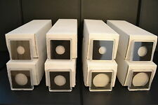 200 - 2x2 8 BOXES OF YOUR CHOICE! plastic snaplock coin holders NEW!